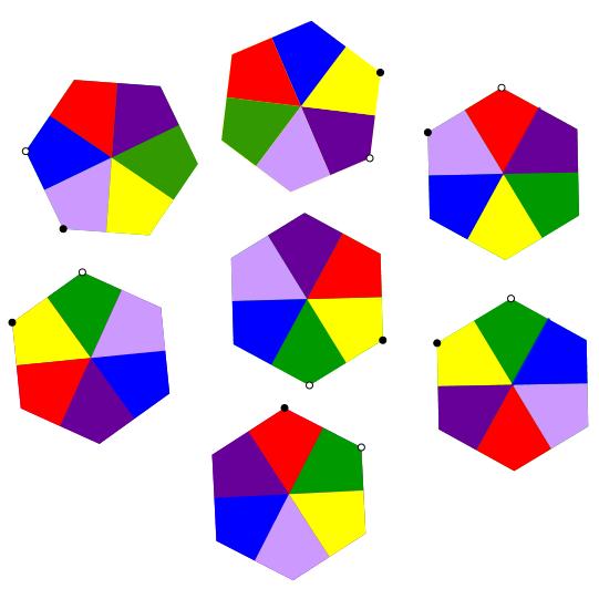 Quebra-cabeça dos hexágonos (00012) Image